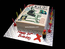 Vogue Magazine Birthday cake