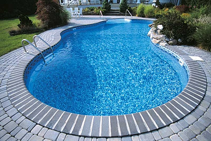 vinyl liner, vinyl pool liner, in-ground pool, inground pool, in ground pool, pool, concrete pool, built in spa, inground, in-ground, custom pool