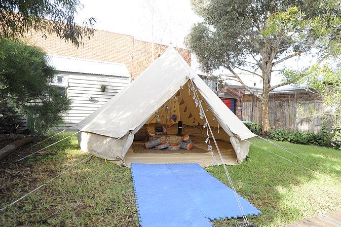 backyard glamping parties backyard glamping parties bell tent backyard