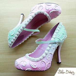 Strawberry Mint fusion Heels