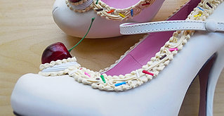 Ivory Dolly Shoes