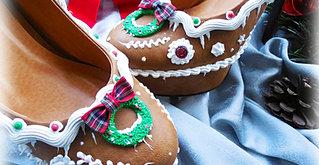 Ginger bread heel