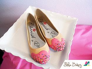 Pink Sprinkle Flats