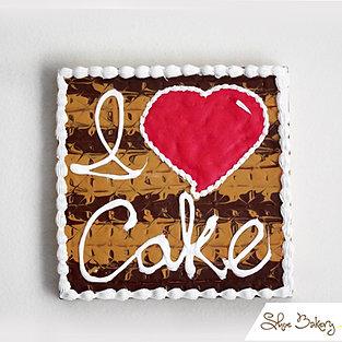 I Love Cake Painting