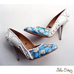 Wedding Heel with Roses