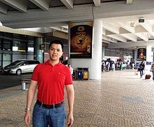 Mario  At Airport
