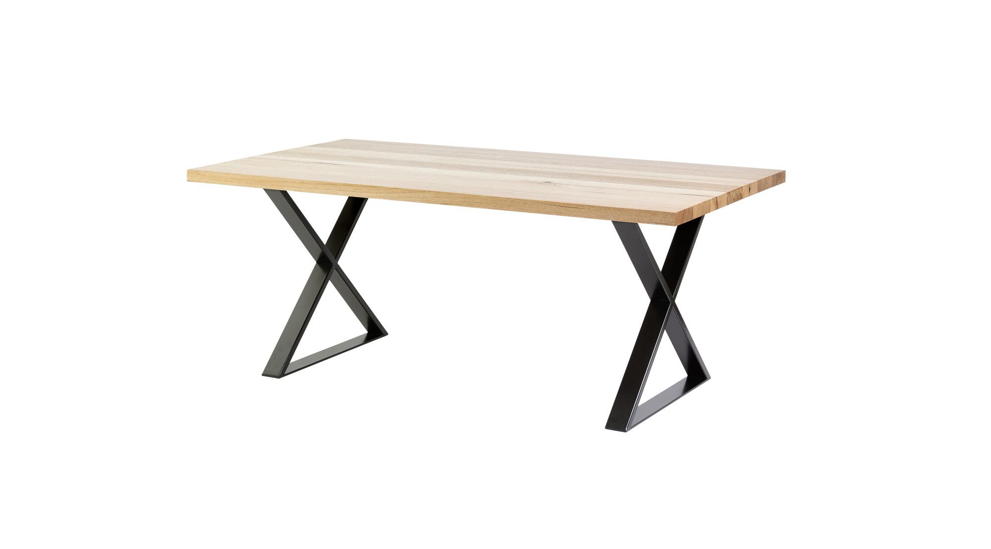 x steel table legs