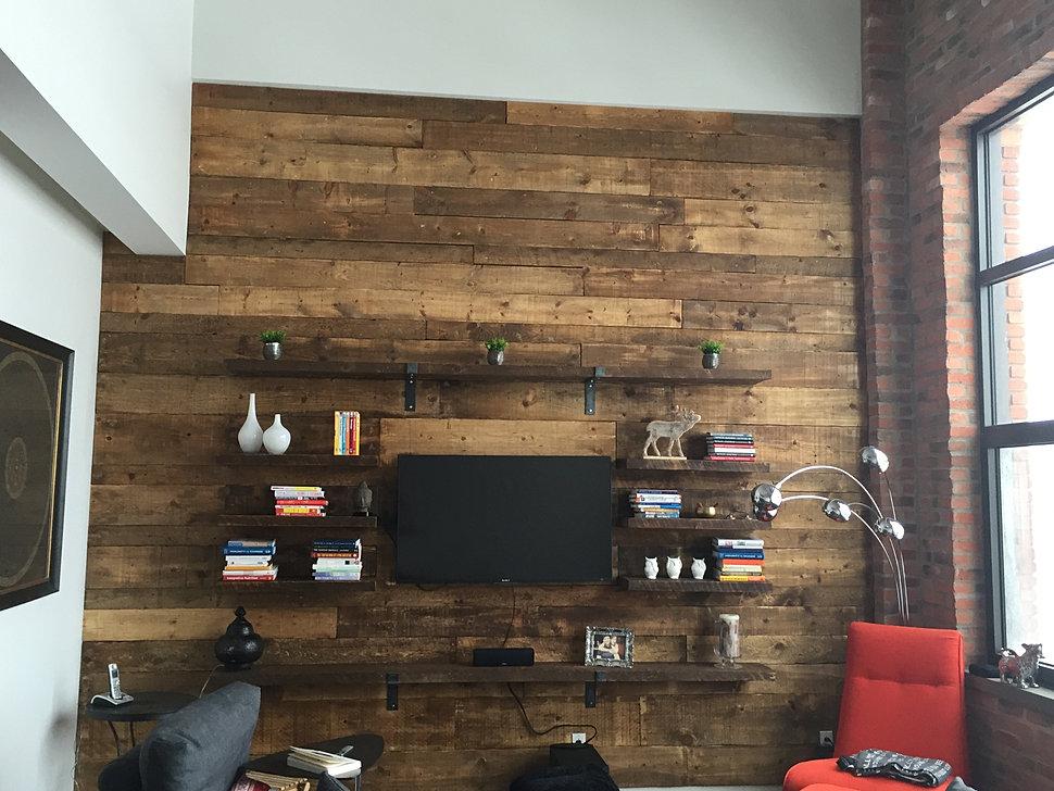 B a m wood bois artisanal et mural for Mural en bois