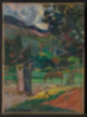 4. PAUL GAUGUIN Paysage tahitien.jpg