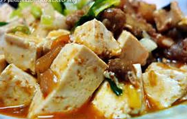 九層塔茄子豆腐