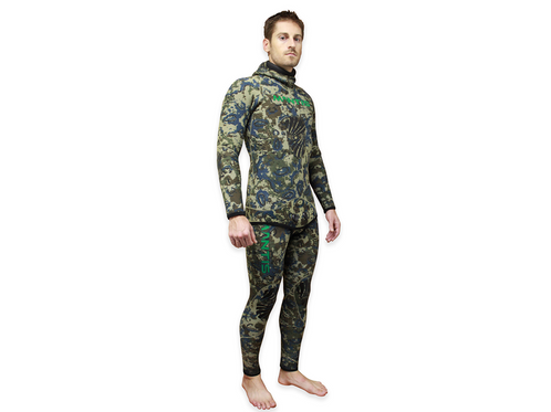 Digital Reef Camo Wetsuit 5mm Mantis Spearfishing