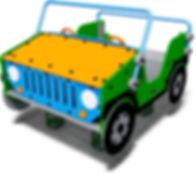 R-0012 - 4 x 4 Car