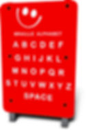 LT-011 - Braille Alphabet Panel