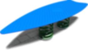 R-0018 - Surfboard Rocker