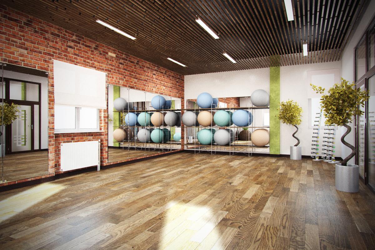 Дизайн проект фитнес-клуба
