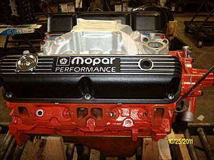DODGE 360 CRATE ENGINE W/FLAT TAPED