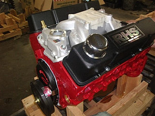 383 B&R STROKER W/425HP FLAT TAPPED