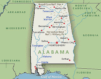 alabama on a map avfh