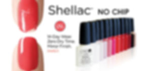 Shellac No Chip 14-day wear zero dry time mirror finish