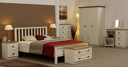 Annagh Ivory Is A Beautiful Range Of Ivory Painted Wood With Pine Tops And Handles