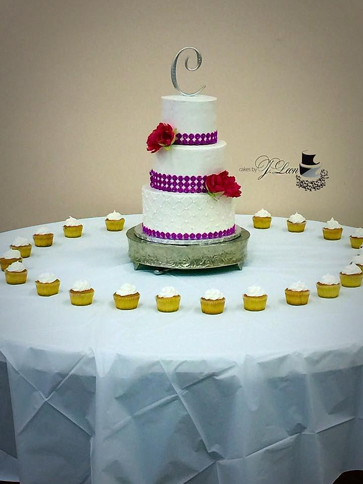 Cakes by JLeon Wedding Cakes Greensboro NC Sugar Art Pepa