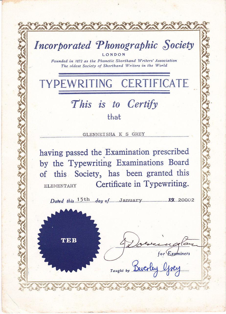 Computer course certificate format northurthwall computer course certificate format yelopaper Images