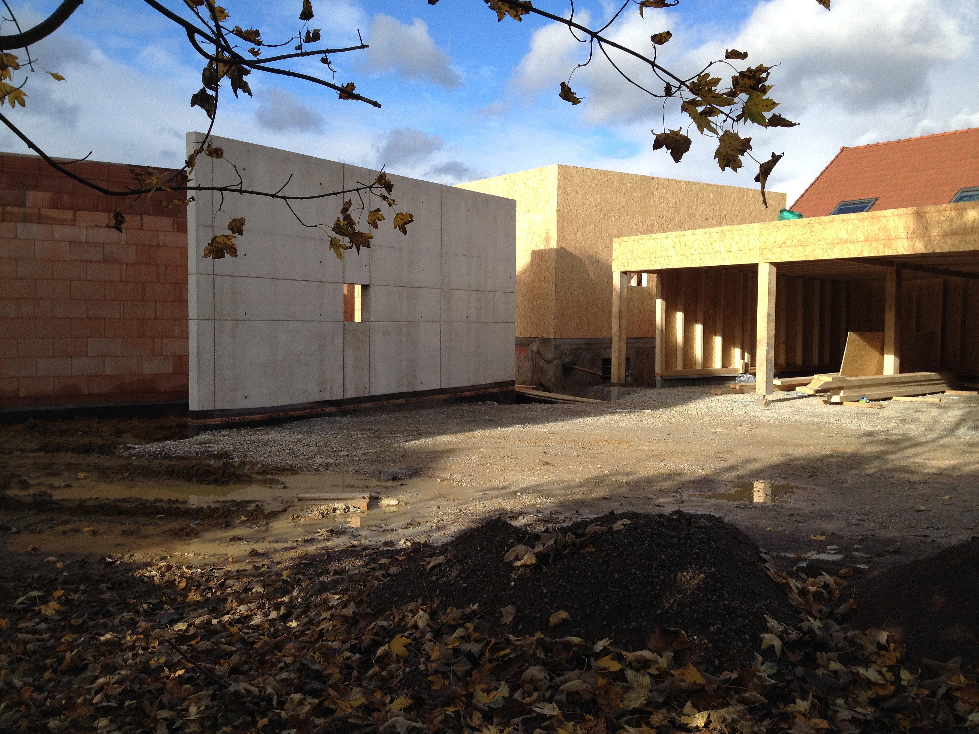 Sarl rodeschini b timent travaux publics mur en b ton for Architecte 3d hauteur mur