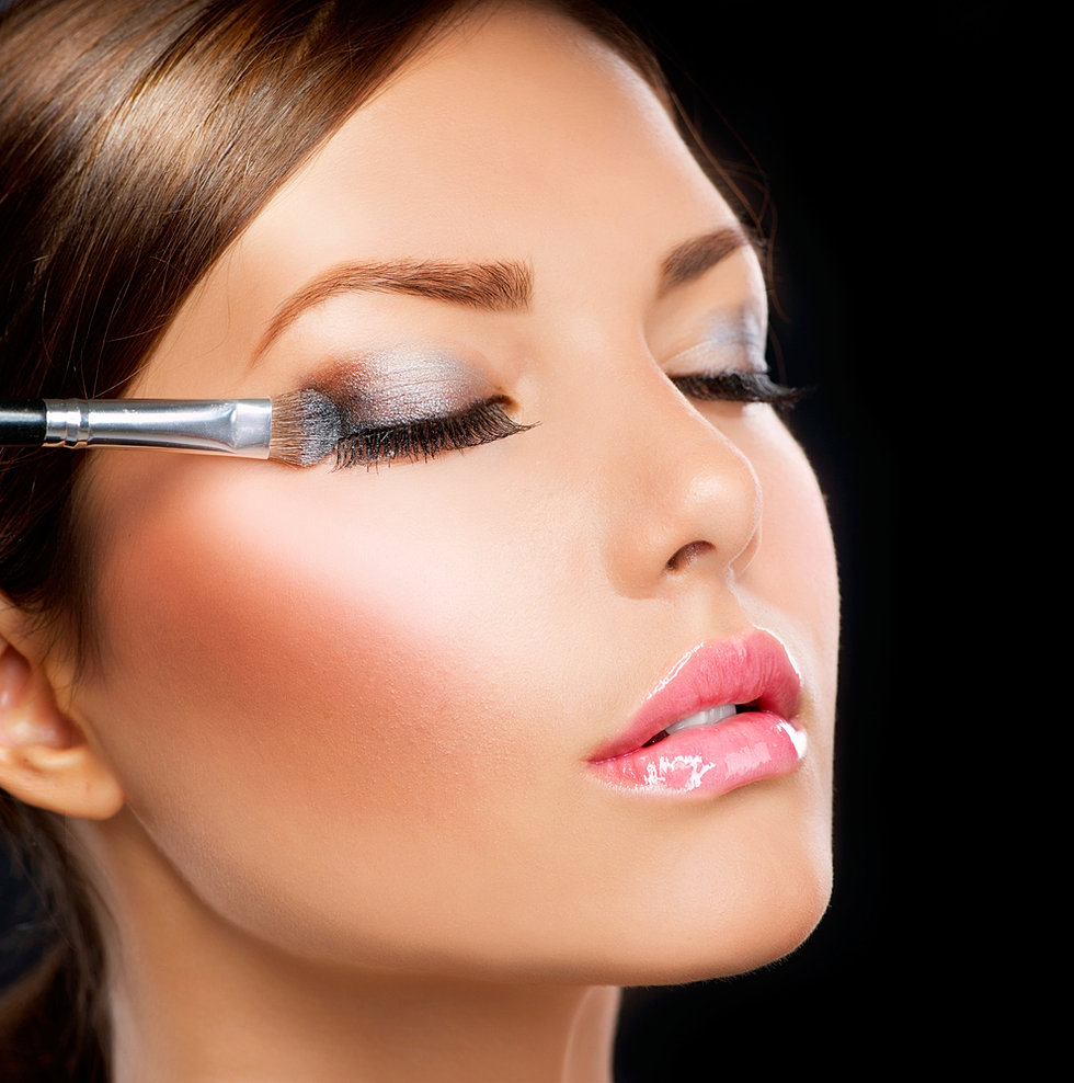 Красивый вечерний макияж как сделать себе самой