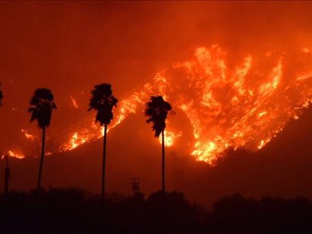 美国宇航局的研究显示,闪电是野火的主要原因