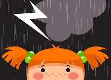缓解孩子对雷暴恐惧的方法