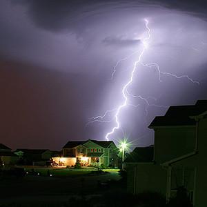 闪电造成的伤害类型