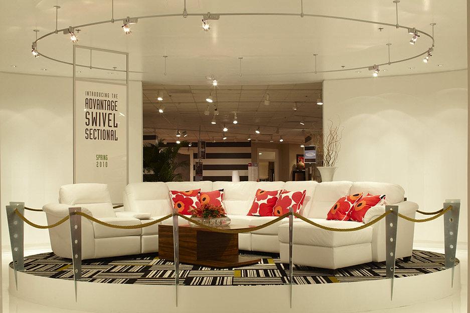 Robert idol design for Showroom living room ideas