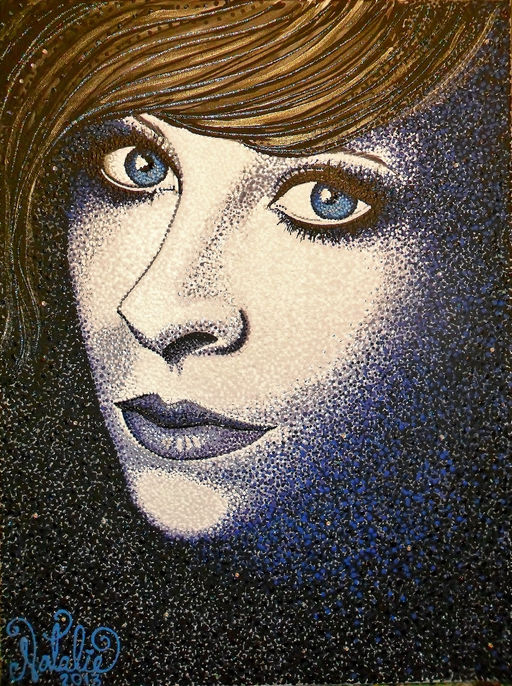 Self Portrait Stippled