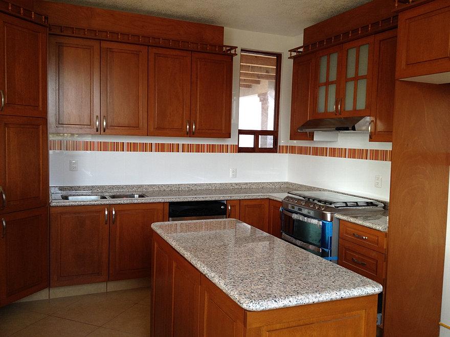 Cocinas integrales proyeccsa for Cocinas modernas color madera