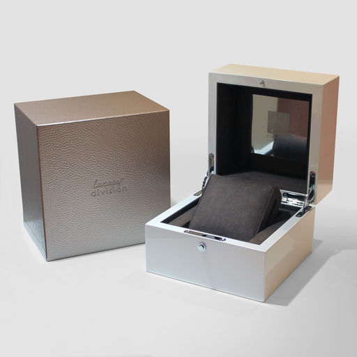 White Watch Box