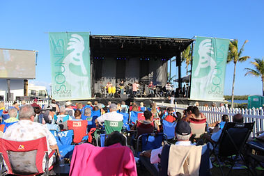 Stage View at Sounds of Jazz