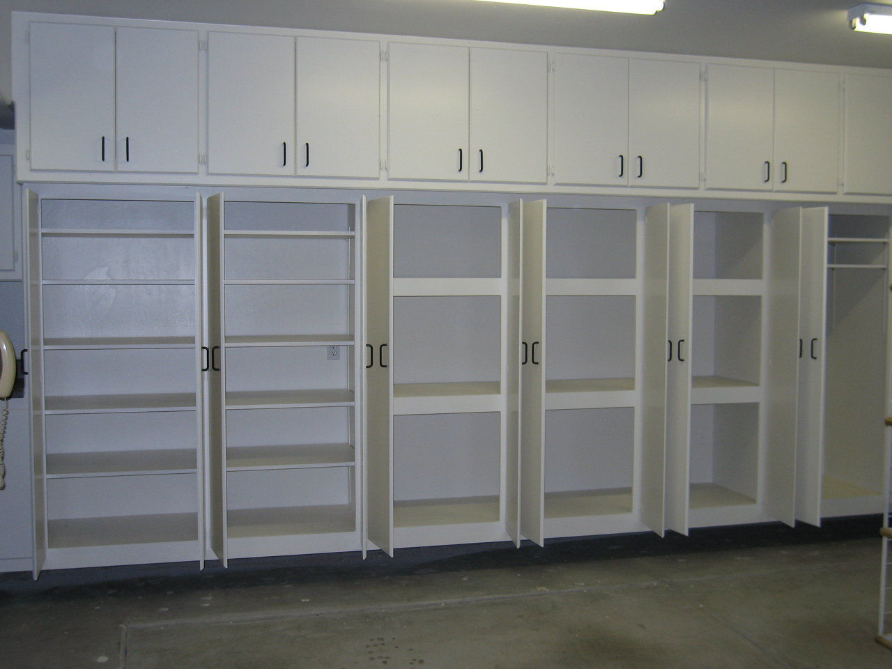 Garage Cabinets And Epoxy Floor Coatings California