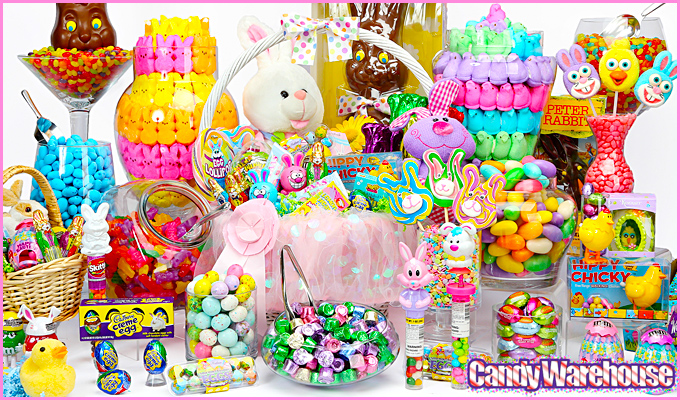Easter Candy Buffet Kid Theme Party Ideas Super Bowl Party It 39 S A Party Ful Life
