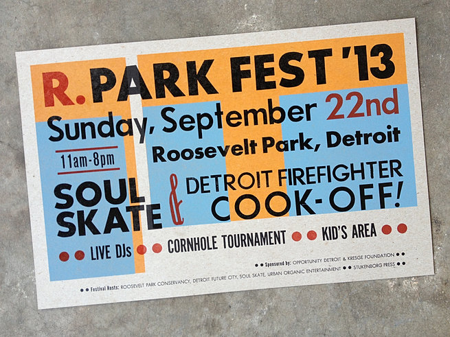 Poster for R.Park Fest 2013