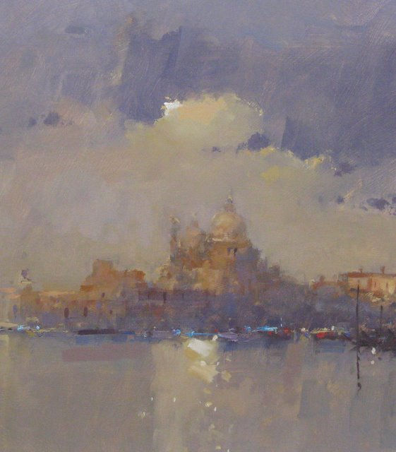 The Salute, Clearing Mist 20 x 27 Peter Wileman.jpg