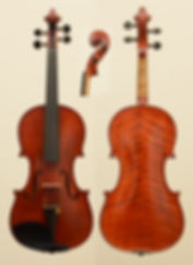 antique violin by Paul Meinel