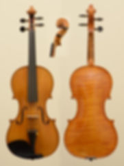 French antique violin made by Couesnon