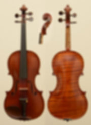 French antique violin by Amédée Dieudonné