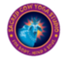 Sacred Cow Yoga Studio Logo
