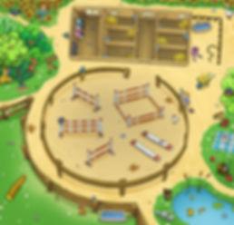 Pferdelandschaft_Spieleillustration_Kind