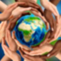 Beautiful conceptual symbol of the Earth