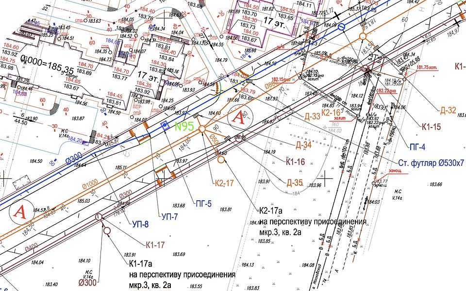 Проектирование наружных инженерных сетей главная