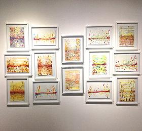 watercolors 11 1/2 x 16 1/2
