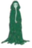 Sea Wraith from the middle grade fantasy books, The Bone Grit Historeum