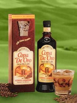 Copa De Oro Licor De Cafe